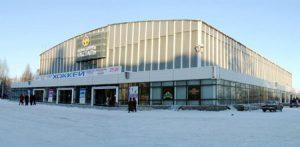 Каток в ледовом дворце Ижсталь