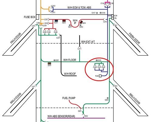 Схема автомобильной электрики