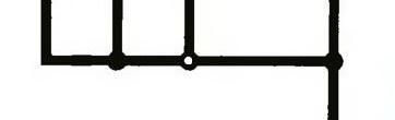 Что означает пустой кружок в узлах схемы