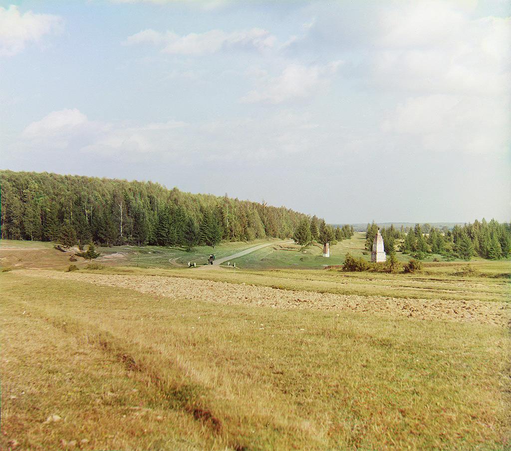 Фотографии Прокудина-Горского с лесом