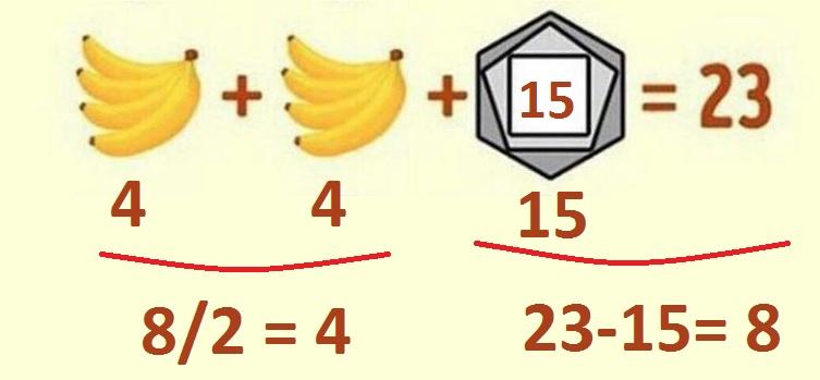 Задача с бананами и часами