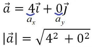 Пример нахождения вектора ускорения